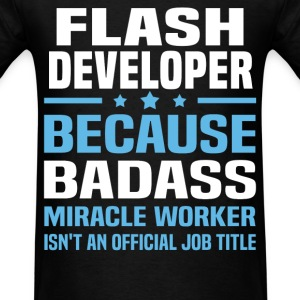 Flash Developer Tshirt - Men's T-Shirt