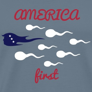 make america great_vec_3 us T-Shirts - Men's Premium T-Shirt