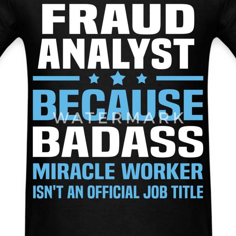 Fraud Investigator Tshirt - Men's T-Shirt