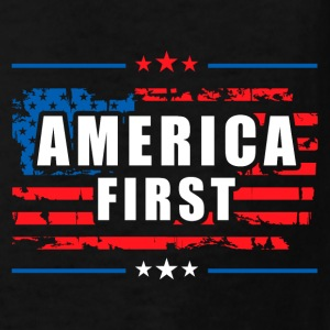 America First - President Donald Trump - Patriot Kids' Shirts - Kids' T-Shirt