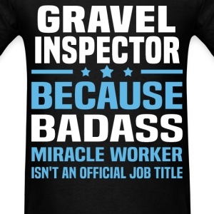 Gravel Inspector Tshirt - Men's T-Shirt