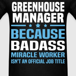 Greenhouse Manager Tshirt - Men's T-Shirt