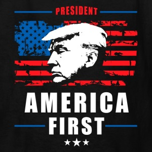 America First - President Donald Trump - Patriot 2 Kids' Shirts - Kids' T-Shirt
