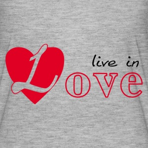 Live in love T-Shirts - Women's Flowy T-Shirt