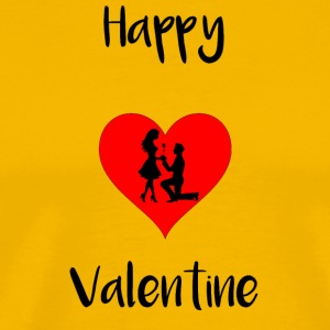 Happy Valentine - Men's Premium T-Shirt