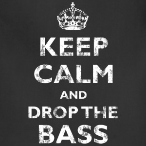 Keep Calm & Drop the Bass Aprons - Adjustable Apron
