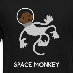 Space Monkey T-Shirts - Men's Premium T-Shirt