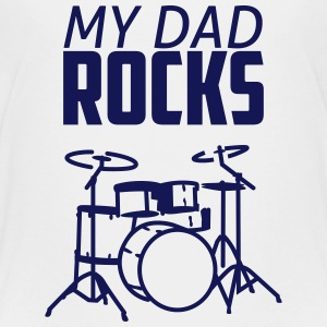 dad rocks Kids' Shirts - Kids' Premium T-Shirt