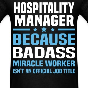 Hospitality Manager Tshirt - Men's T-Shirt