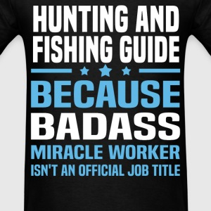 Hunting And Fishing Guide Tshirt - Men's T-Shirt