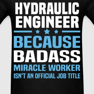 Hydraulic Engineer Tshirt - Men's T-Shirt