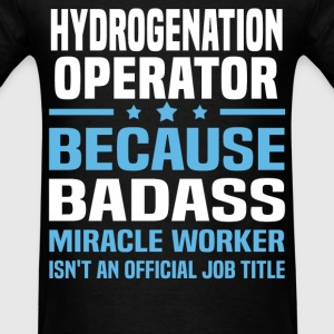 Hydrogenation Operator Tshirt - Men's T-Shirt
