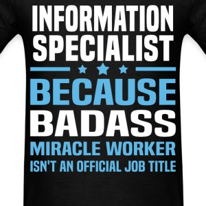 Information Specialist Tshirt - Men's T-Shirt