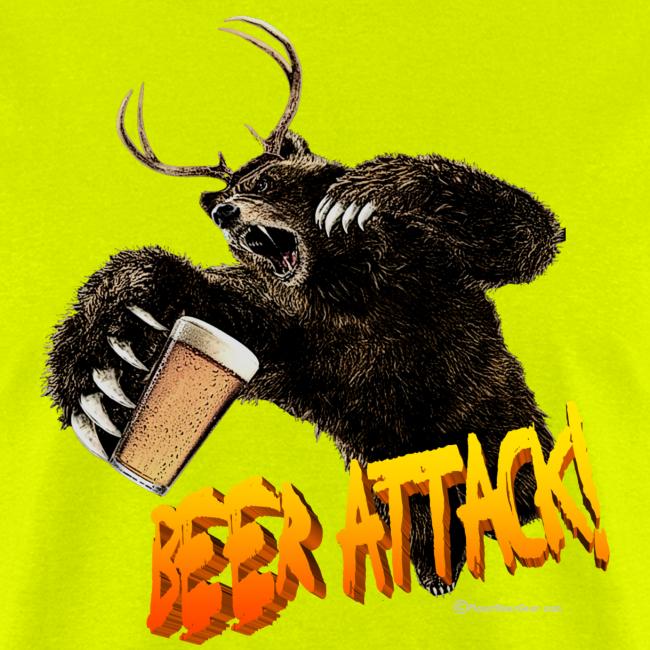 BEER ATTACK! Men's T-Shirt