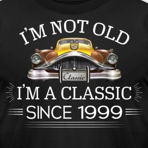 Classic since 1999 T-Shirts - Men's T-Shirt by American Apparel