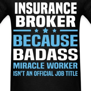 Insurance Broker Tshirt - Men's T-Shirt