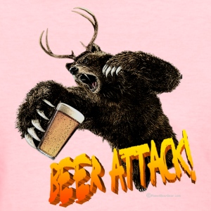 BEER ATTACK! Women's T-Shirt - Women's T-Shirt