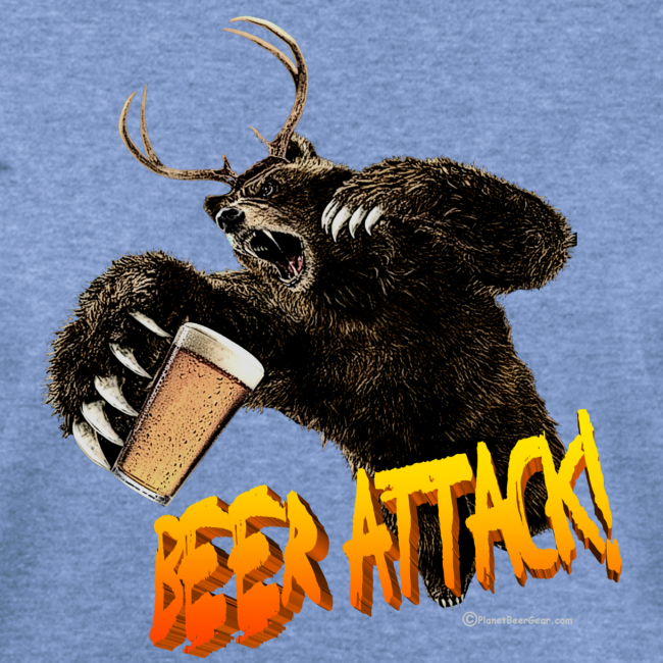 BEER ATTACK! Women's Wideneck Sweatshirt