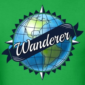 Wanderer (for men) - Men's T-Shirt