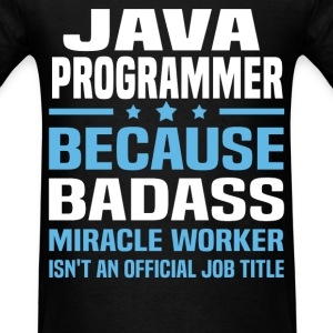 Java Programmer Tshirt - Men's T-Shirt