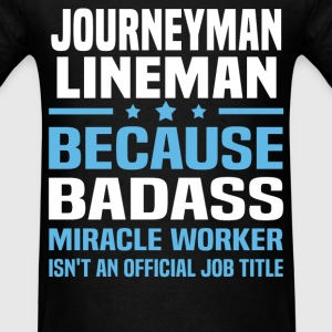 Journeyman Lineman Tshirt - Men's T-Shirt
