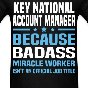 Key National Account Manager Tshirt - Men's T-Shirt