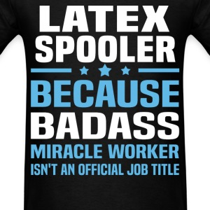 Latex Spooler Tshirt - Men's T-Shirt