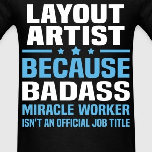 Layout Artist Tshirt - Men's T-Shirt