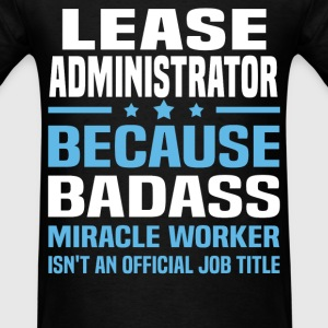 Lease Administrator Tshirt - Men's T-Shirt