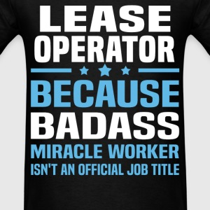 Lease Operator Tshirt - Men's T-Shirt
