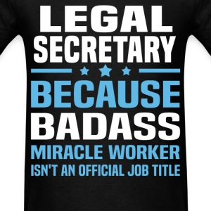 Legal Secretary Tshirt - Men's T-Shirt