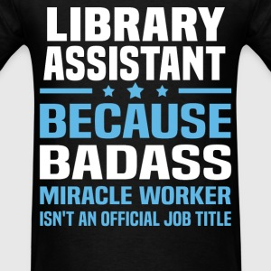 Library Assistant Tshirt - Men's T-Shirt