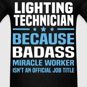 Lighting Technician Tshirt - Men's T-Shirt