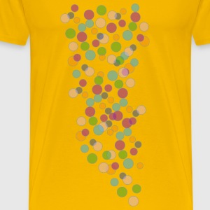 colored bubbles - Men's Premium T-Shirt