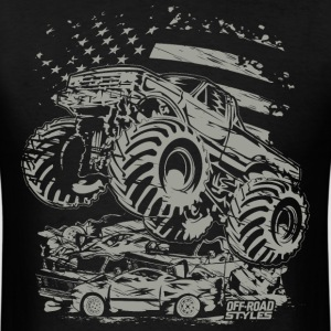 Monster Truck USA T-Shirts - Men's T-Shirt