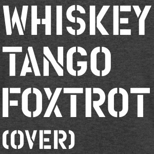 whiskey_tango_foxtrot_over T-Shirts - Men's V-Neck T-Shirt by Canvas