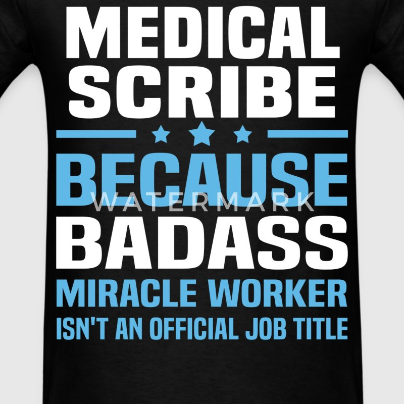 Medical Scribe Tshirt - Men's T-Shirt