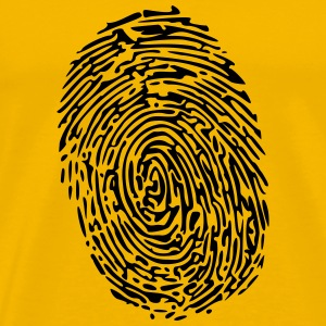 Fingerprint modified - Men's Premium T-Shirt