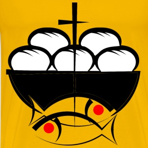 Fish and Bread - Men's Premium T-Shirt
