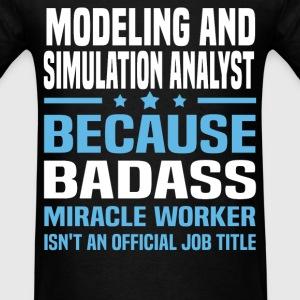 Modeling and Simulation Analyst Tshirt - Men's T-Shirt