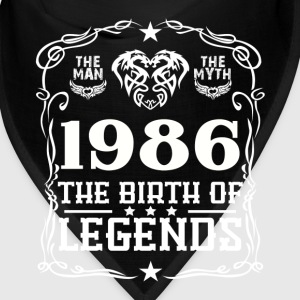 Legends 1986 Caps - Bandana