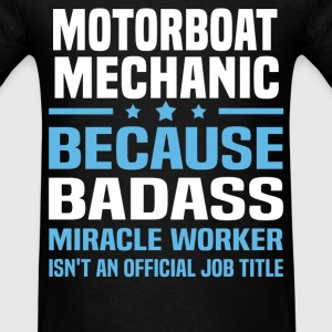 Motorboat Mechanic Tshirt - Men's T-Shirt