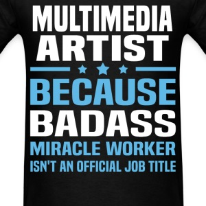 MultiMedia Artist Tshirt - Men's T-Shirt