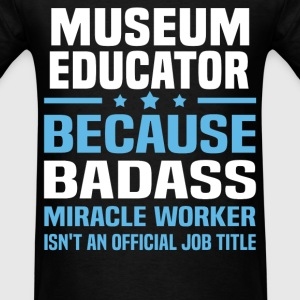 Museum Educator Tshirt - Men's T-Shirt