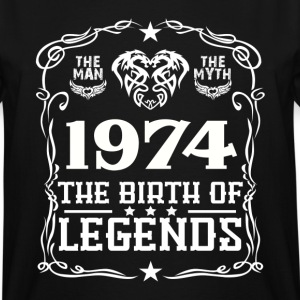 Legends 1974 T-Shirts - Men's Tall T-Shirt
