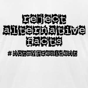 Reject Alternative Facte - Mens Tee - Men's T-Shirt by American Apparel