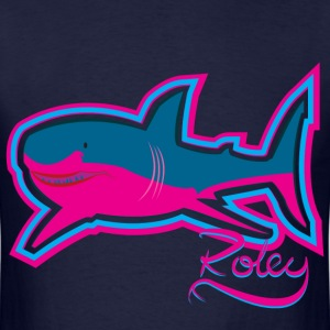 Retrowave Shark - Men's T-Shirt