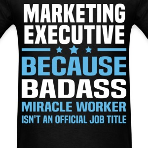Marketing Executive Tshirt - Men's T-Shirt
