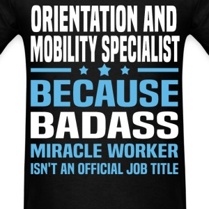 Orientation and Mobility Specialist Tshirt - Men's T-Shirt