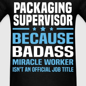 Packaging Supervisor Tshirt - Men's T-Shirt